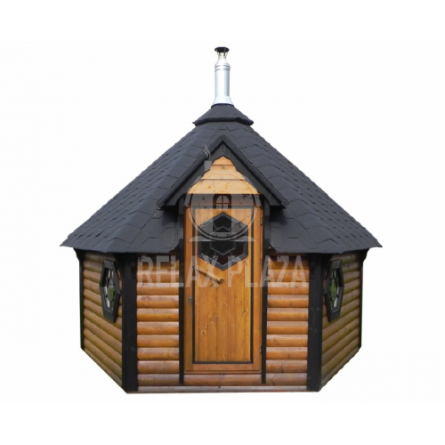 9.2m.Sauna Cabin with a changing room